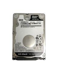 Wd - Black 500Gb / 1Tb Internal Sata Hard Drive for Laptops