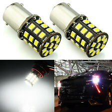 JDM ASTAR 2x White 1156 BA15S AX-2835 SMD LED Car Turn Signal Tail Lights Bulbs