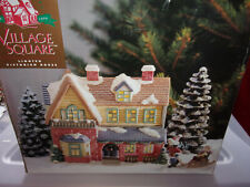 Village Square Lighted Victorian House 1996