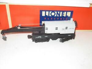 LIONEL LTD. PROD.- 52008 - TCA 1993 GREY SIX WHEEL CRANE CAR- 0/027- NEW-  A1