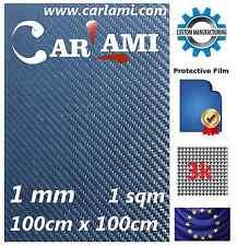 Erste Schicht Real Carbon Platte Carbonfaser 1qm (100cm x 100cm), Dicke: 1 mm
