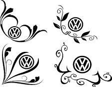 VW TRANSPORTER T4, T5, GOLF, BETTLE, vinile Finestra Adesivo Decalcomania