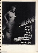 Photogravure - 1935 -John T.Moss Jr.  - Burlesque