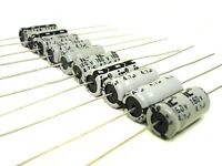 10pcs 4.7uf 160v Axial Electrolytic Capacitor Guitar Amp Tube Amplifier NEW