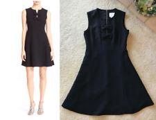 Kate Spade New York Black 'Kite Bow' Crepe Fit & Flare Dress Size 2
