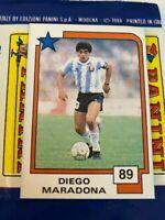 Panini FIFA WORLD CUP MARADONA 1988 SOCCER SUPERSTARS BRAND NEW FROM PACKET