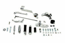 Chrome Forward Control Kit for Harley Davidson by V-Twin