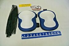 McGuire Nicholas Knee Pads #353 Non Marring Stitched Cup Construction Free Ship