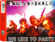 PARTY ANIMALS - We like to party 5TR CDM 1997 HAPPY HARDCORE / GABBER