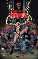 VENGEANCE OF VAMPIRELLA 1 CASTRO JETPACK COMICS/FOBIDDEN PLANET EXCLUSIVE