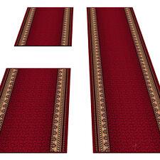 Bettvorleger 3teilig 2x 67x140 & 1x 67x340 - Maximum ROGNA dark red
