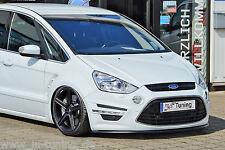 Alerón espada Front alerón labio cuplippe ABS para Ford S-Max + Titanium con Abe