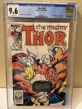 The Mighty Thor #338 CGC 9.6