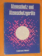 Kellermann/ Meinhart: Atemschutz und Atemschutzgeräte /DDR Heft,Tribüne 1982 /IS