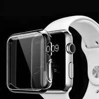 Soft TPU Silicone New Protect Guard Case Cover for iWatch Apple Watch 38mm/42mm