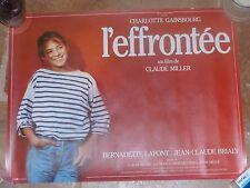 CHARLOTTE GAINSBOURG - RARE AFFICHE ORIGINALE L'EFFRONTEE !!!!!!!!!!!!!!!