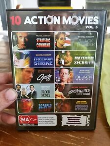10 Action Movies Vol. 3 Dvd
