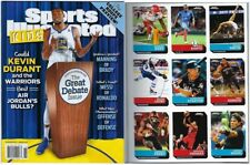 New Sports Illustrated Kids November 2017 Kevin Durant Warriors No Label + Cards