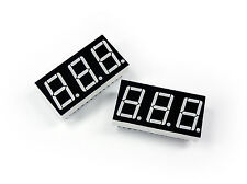 2x BLUE 3-Digit LED Displays Mod for Roland MC-505 (electronic components)