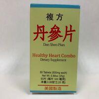Healthy Heart Combo (Fu Fang Dan Shen Pian) - For Circulation - Made in USA