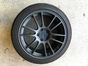 Enkei GTC01RR 18*8.5  35 5-114.3 WITH Bridgestone RE003 245/40R18 97W
