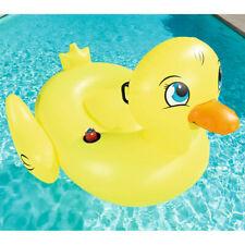 Canard piscine Gonflable Bestway 188 cm x 127cm bouée exterieur / jardin