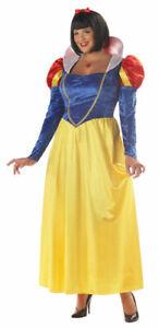 Snow White Womens Plus Size Halloween Costume