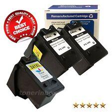 3pk PG240XL CL241XL Black&Color Ink Cartridge for Canon PIXMA MX459 MX472 MX479