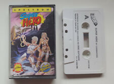 SUPER HERO -SINCLAIR ZX SPECTRUM SPANISH CASSETTE / AMSTRAD - CODEMASTERS - ERBE