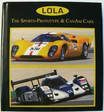 Lola The Sports-Prototype & Canam Cars John Starkey ISBN 9780981827216 Car Book