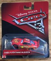 Disney Pixar Cars 3 Lightning Mcqueen Diecast Mattel 1:55 Scale-C3
