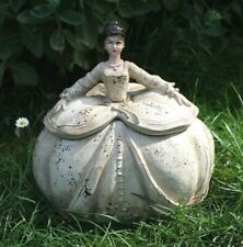 Clayre & Eef Girls Baroque Vintage Shabby Tin Box Rococo Dress 8 5/16in New