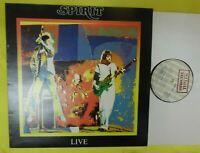 "SPIRIT ""Live"" w/Randy California & Ed Cassidy UK Illegal records 1978 vinyl LP"