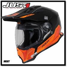 Just1 J14 ELITE Adventure ATV Endurohelm Motorradhelm mit Sonnenvisier NEU