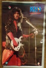 KISS GENE SIMMONS 1985 ORIGINAL POSTER FUNKY #3048 NEW