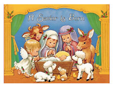 Nativity Christmas edible cake topper decoration frosting sheet