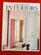 THE WORLD OF INTERIORS Magazine : August 2000
