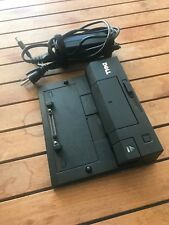 Dell Latitude E Port Docking Station PR03X E6330  E6420 E6430 Dell AC adapter