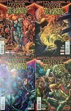 Marvel Zombies Battleworld 1-4 (2015) Near Mint Complete series Marvel Comics
