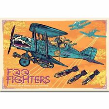 19K Foo Fighters American Rock Band Dave Grohl Silk Cloth Art Poster Decor