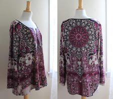 One World Boho Plus Size Tops & Blouses for Women for sale ...