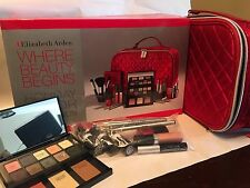 Elizabeth Arden Holiday Color Collection Makeup Kit Gift Set-Missing Brushes