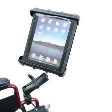 Wheelchair Mount with Extension & Tablet Holder for iPad 2 3 & 4