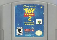 Toy Story 2 Nintendo 64 N64 Cleaned & Tested Cart Only Authentic