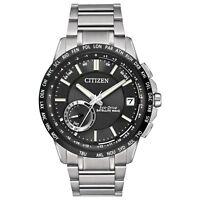 Citizen Eco-Drive Men's Satellite Wave Chronograph 44mm Watch CC3005-85E