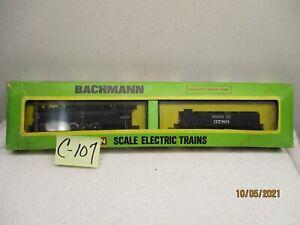 C107 Vintage Bachmann N 4786 Northern 4-8-4 & 52' Tender Santa Fe 3780