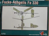 Pavla Models 1/72 Focke Achgelis Fa 330 unmade kit complete sealed bag.