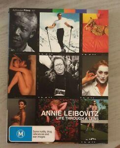 Annie Leibovitz: Life Through a Lens DVD Like New Free Postage