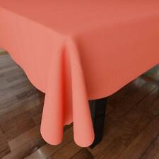 Cotton Plain Color Tablecloth Cover Mat 6 feet Long for Center Dining Table