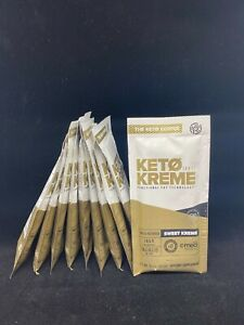 KETO SWEET KREME (10) + COLLAGEN by Pruvit, NEW, FREE SHIPPING!